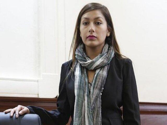 Comisión de la Mujer y Familia: congresista Arlette Contreras pide que dictaminen sobre paridad y alternancia