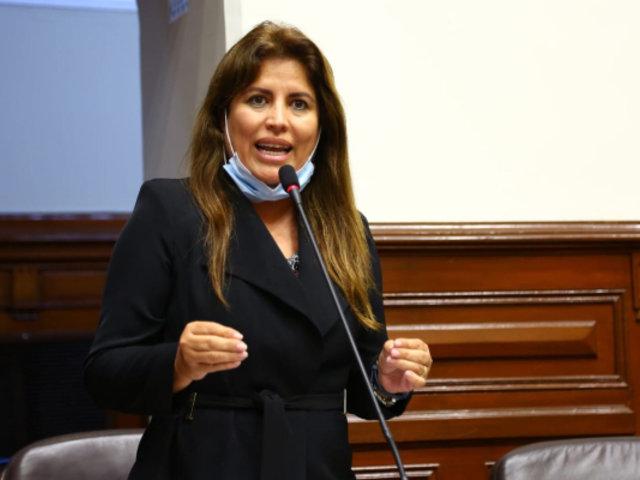 Carmen Omonte es elegida presidenta de comisión para reforma de pensiones