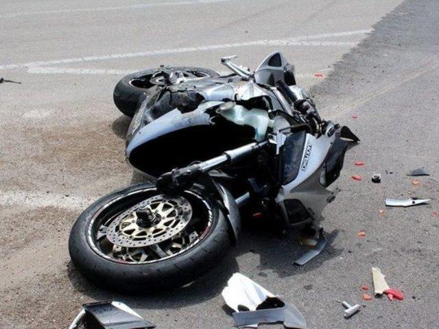 Moyobamba: motociclista casi pierde la vida tras despistarse para evitar chocar contra vehículo