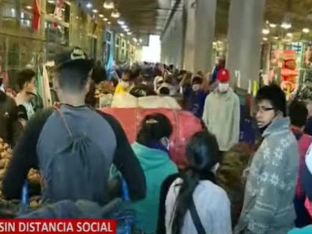 Emmsa: Aglomeración en Mercado Santa Anita se debió a desinfección de Pabellón 'D'