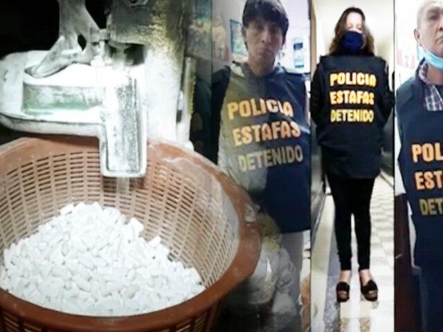 """Así operaba la banda criminal que fabricaba """"paracetamol bamba"""" en La Victoria"""