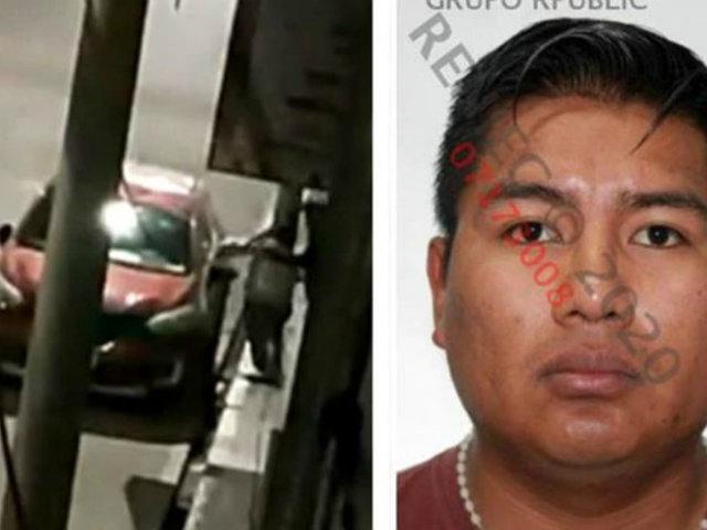Puno: policía es captado cuando golpeaba a su pareja en la calle