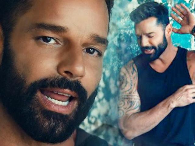 Ricky Martin confesó que ha sufrido de depresión durante el confinamiento