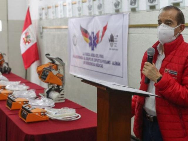 Coronavirus: Gobierno alemán dona 30 ventiladores mecánicos