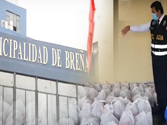 Municipalidad de Breña se pronuncia por presunto caso de corrupción