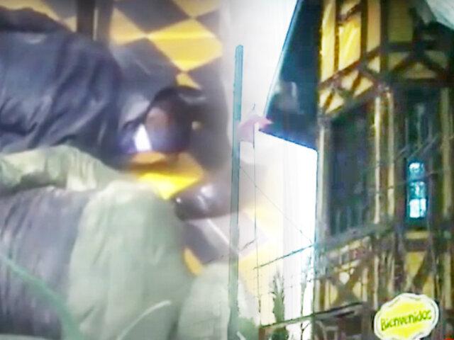 Chosica: cae banda que intentó robar un colegio