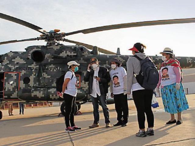 Wilber Carcausto: Equipo PNP de Lima llega a Tacna para reforzar búsqueda