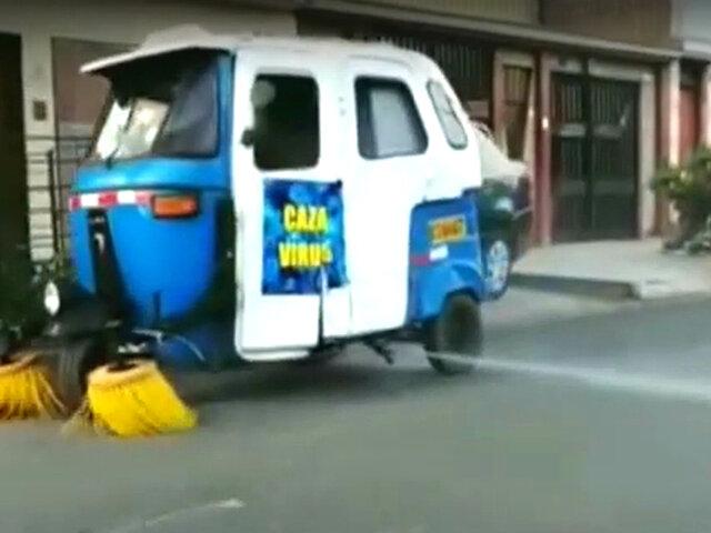 Alumnos y profesores de la UNI crean vehículo de limpieza de calles