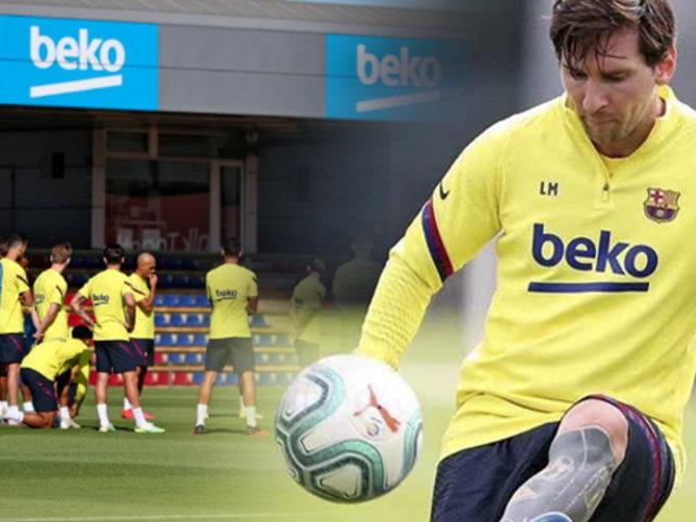 Barcelona: Lionel Messi se lesiona a una semana del reinicio de LaLiga