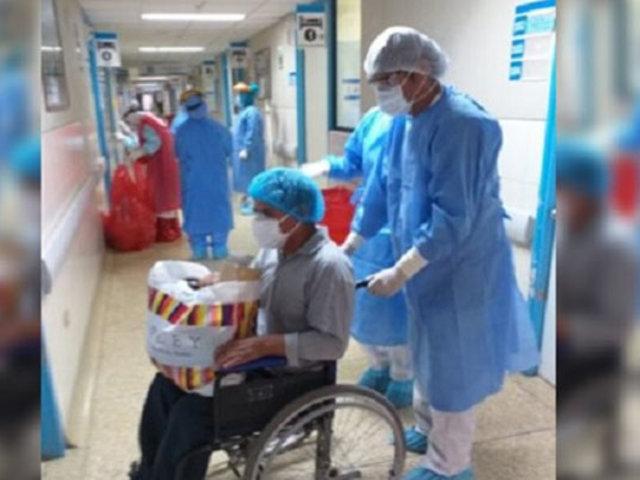 Ayacucho: Hospital de EsSalud dio de alta a 86 pacientes Covid-19
