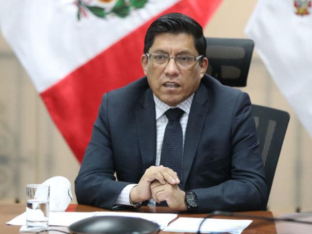 Premier Zeballos: Retomemos las actividades reeducando nuestras costumbres