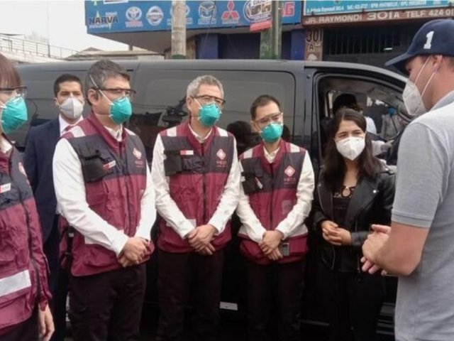 La Victoria: médicos de Wuhan y George Forsyth recorrieron el distrito para conocer situación del COVID-19