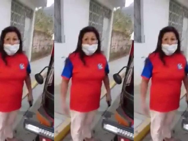 Huánuco: mujer impidió que su pareja sea detenida por manejar mototaxi sin mascarilla