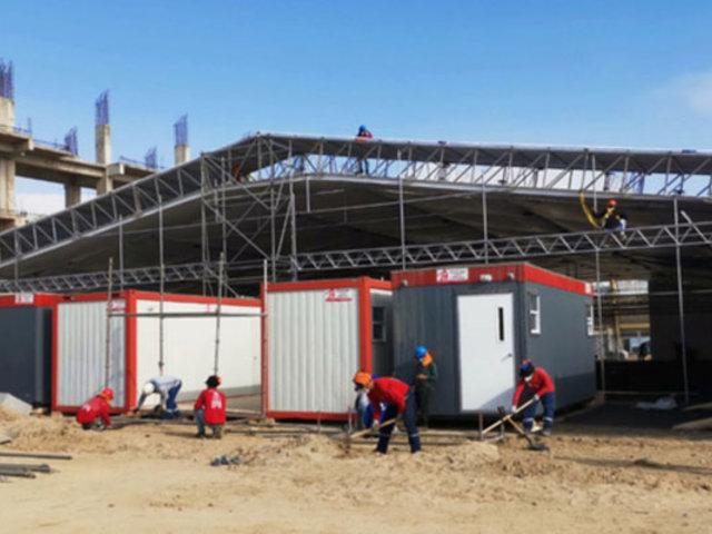 Covid-19: instalan hospital en estadio Campeones del 36 de Sullana