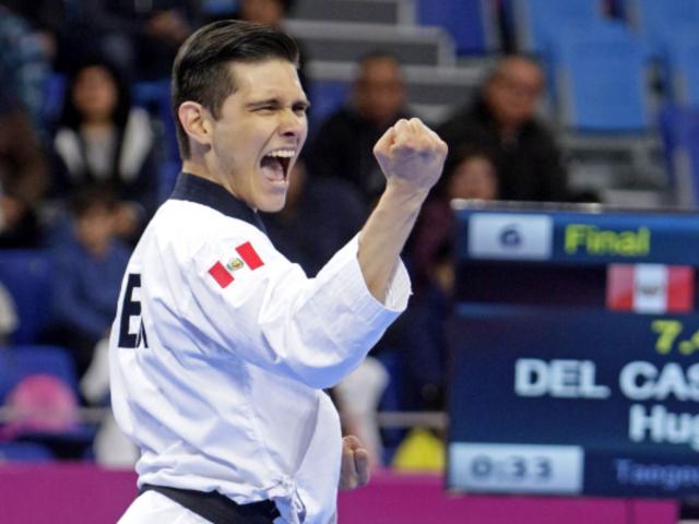 Hugo del Castillo: medallista en Lima 2019 responde a Phillip Butters tras burlas al Taekwondo Poomsae