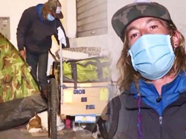 Argentino pide regresar a su nación con sus mascotas en plena pandemia