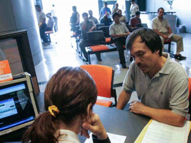 Retiro 25% de AFP: a la fecha depositaron S/. 12,403 millones en cuenta de afiliados