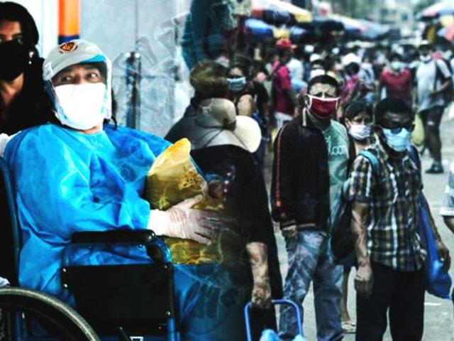 Coronavirus en Perú al 10 de julio: 319,646 contagiados y 11,500 fallecidos