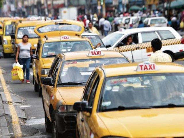 ATU propone que taxistas no tengan antecedentes penales vinculados a violencia