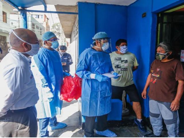 Ate: médicos del Minsa realizan evaluaciones clínicas domiciliarias