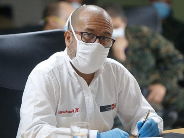 """Ministro Zamora: """"ya tenemos diseñado un plan para obtener la vacuna"""""""