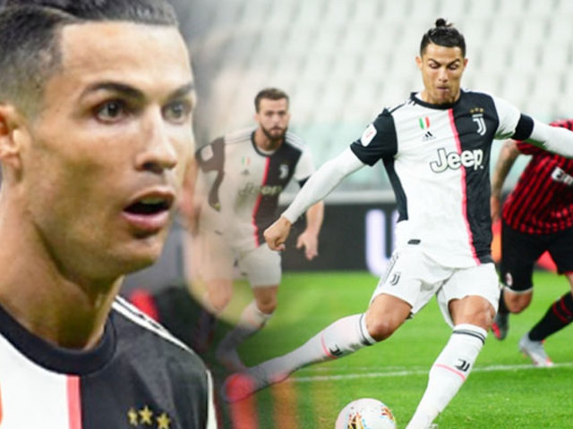 La Juventus con CR7 clasificó a la final de la Copa Italia
