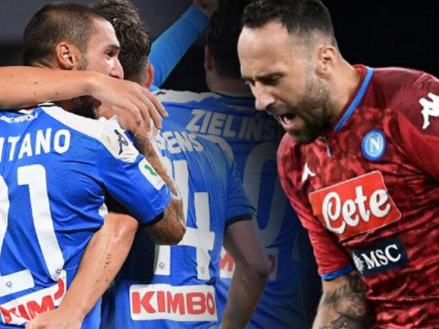 Napoli vence al Inter y accede a la final de la Copa de Italia