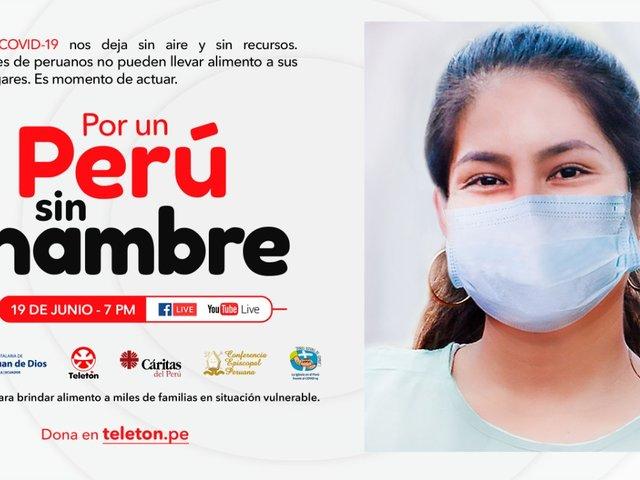 """""""Por un Perú sin hambre"""": Artistas nacionales e internacionales se suman a la campaña de la Teletón"""