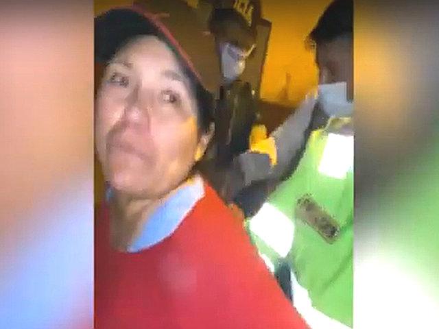 Huánuco: intervienen a personal del Ministerio Público bebiendo licor