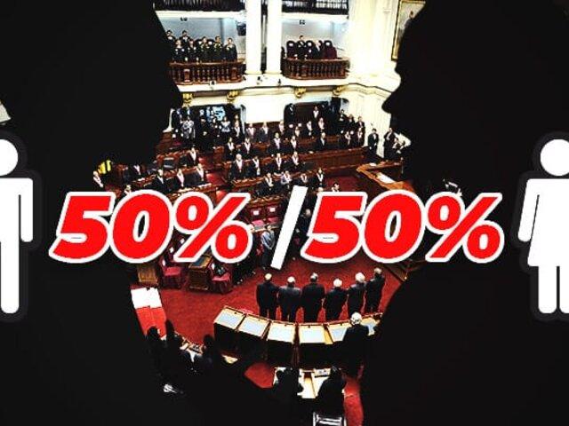 Comisión de la Mujer aprobó dictamen sobre paridad y alternancia sin voto preferencial