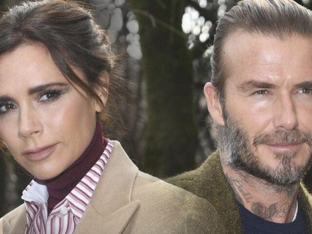 Victoria y David Beckham anuncian que vivirán separados por un tiempo