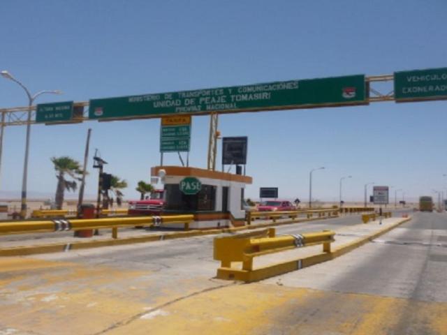 Cobro de peaje en Arequipa, Moquegua y Tacna se reanuda desde hoy