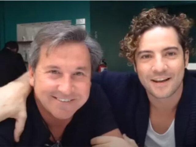 """""""Por un Perú sin hambre"""": cantantes David Bisbal y Ricardo Montaner se unen en Teletón Digital"""