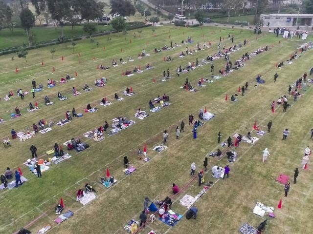 Comas: más de 1.000 ambulantes iniciaron atención en parque Sinchi Roca