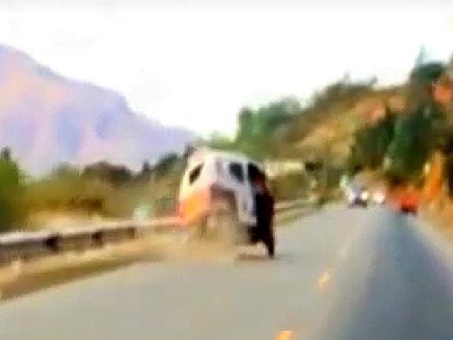 Huánuco: registran a sujeto conduciendo en pleno estado de ebriedad