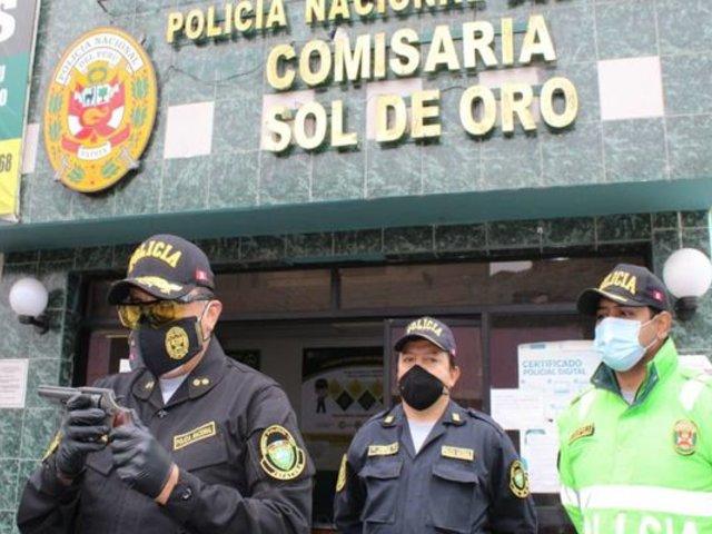 SMP: detienen a banda que se dedicada a extorsionar a transportistas