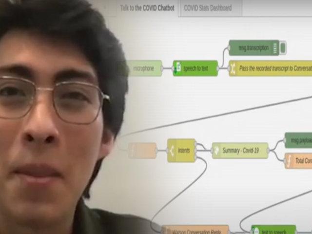 Estudiantes peruanos ganan concurso internacional para buscar soluciones para enfrentar al COVID-19