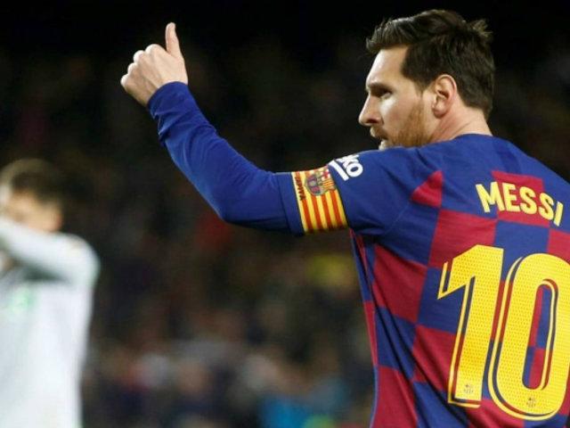 Hoy Leonel Messi cumple 33 años: goleador histórico del Barcelona con 629 tantos