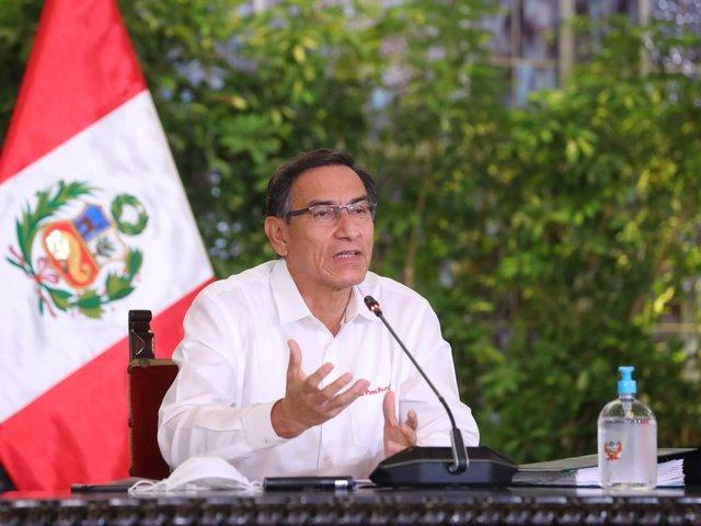 Presidente Vizcarra ofreció balance de los 100 días del estado de emergencia