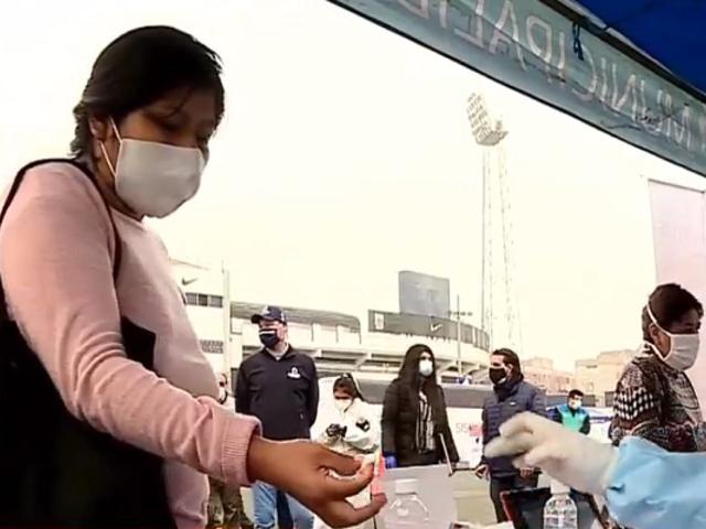 La Victoria: instalan módulos en el estadio Alejandro Villanueva para realizar descarte de COVID-19