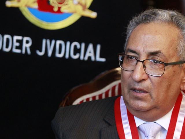 Lecaros pide que mandato en el Poder Judicial se amplíe a 3 años con oportunidad a reelección