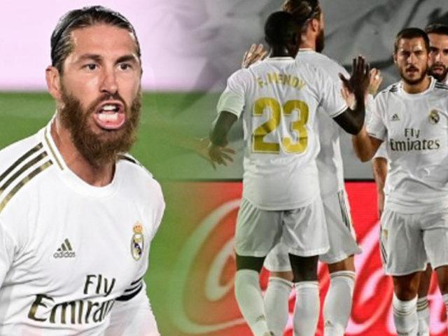 El Real Madrid es líder de LaLiga española