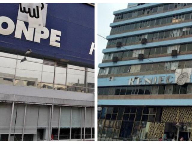 JNJ publicó lista de candidatos aptos para postular como jefes de la ONPE y Reniec