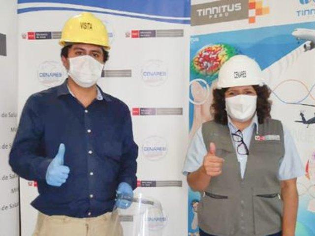 Estudiantes de la UNMSM donan más de 25.000 protectores faciales para enfrentar el COVID-19