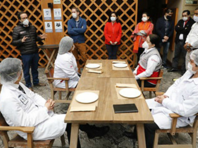 Restaurantes en salón: solo podrá quitarse la mascarilla para comer