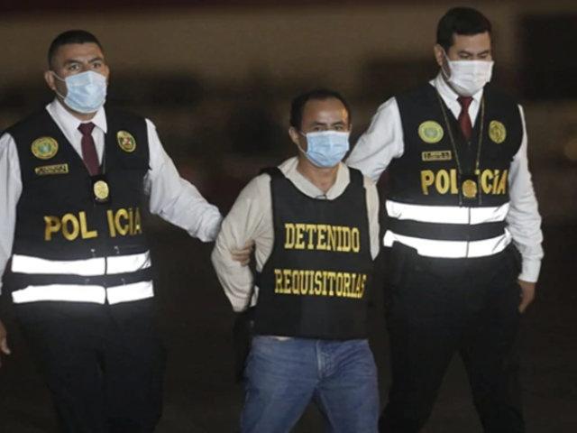 Exgobernador Gregorio Santos fue internado en el penal Castro Castro