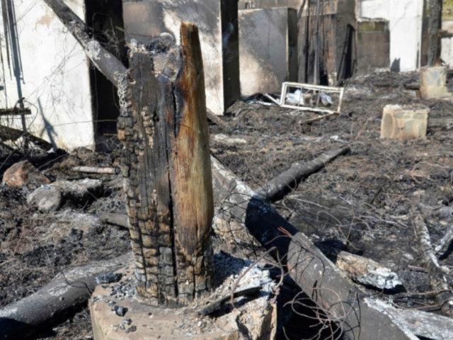 Cusco: incendio arrasa parte del balneario turístico de Santa Teresa