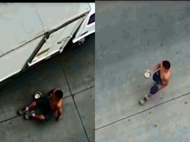 Falsos mendigos vienen lucrando en diversos puntos de Lima