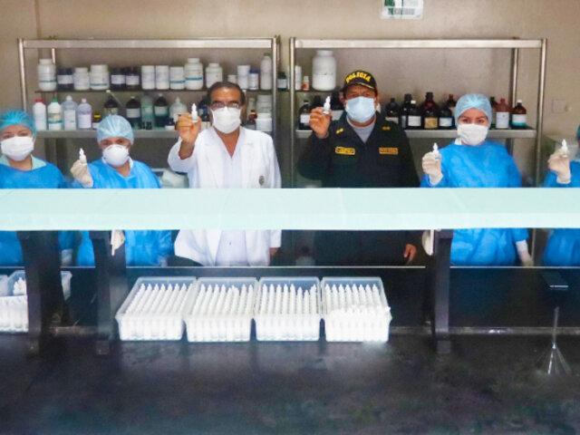Hospital de Policía produce Ivermectina para tratar a policías contagiados de Covid-19