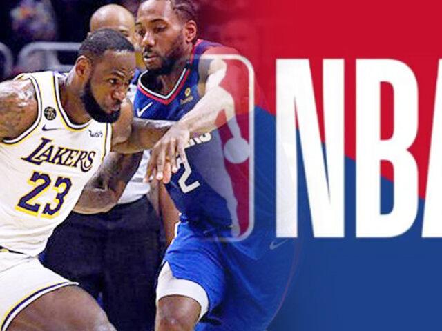 La NBA vuelve el 30 de julio desde Disney World